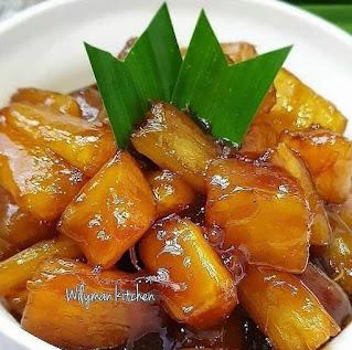 Singkong karamel