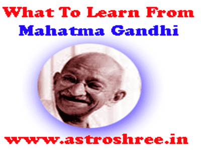 reasons to believe on mahatma gandhi