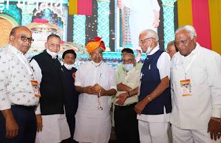 श्री मोहनखेड़ा महातीर्थ में गुरु सप्तमी महामहोत्सव के समापन पर ट्रस्ट ने आभार माना