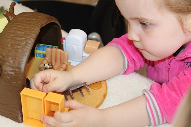 test de jouet pour enfant