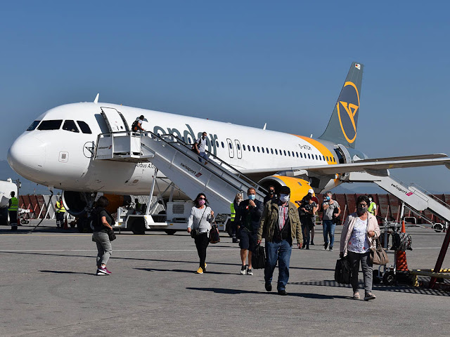 Πρώτη διεθνής άφιξη για την φετινή θερινή περίοδο στο αεροδρόμιο της Καλαμάτας
