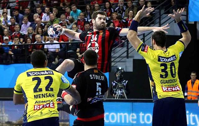 RK Vardar Skopje siegt gegen Rhein-Neckar Löwen - Handball CL