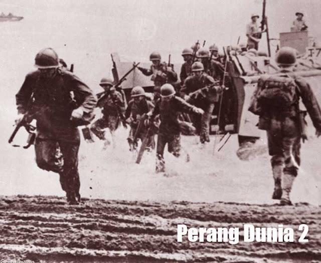 Gambar ilustrasi perang dunia 2