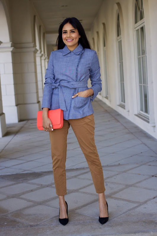 5 pieces you need for Spring with Banana Republic