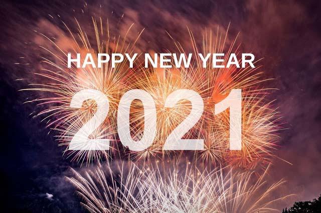 احتفالات العام الجديد 2021
