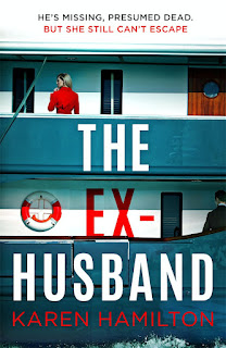The Ex-Husband by Karen Hamilton book cover