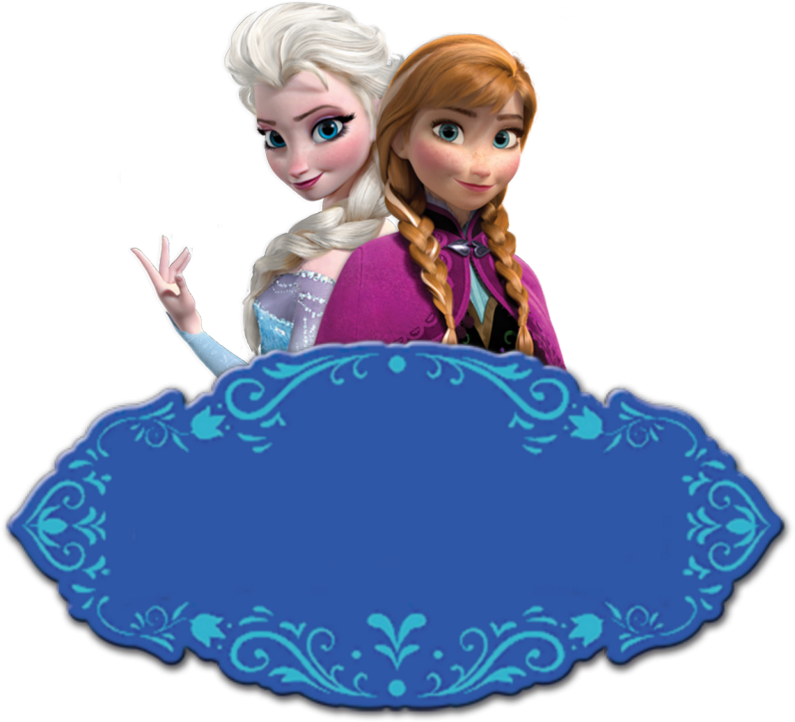 Frozen: Free Printable Kit with Fucsia Border. | Oh My Fiesta! in ...