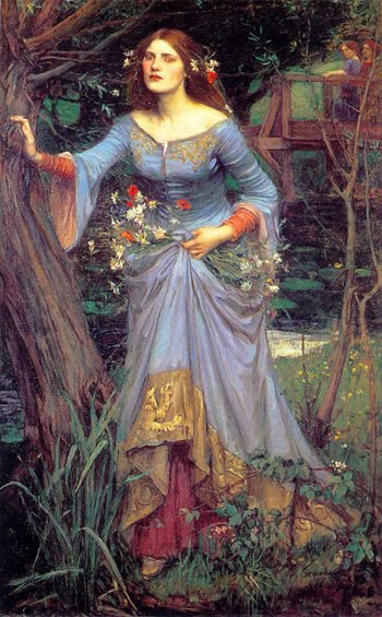 Ophelia Painting by Waterhouse