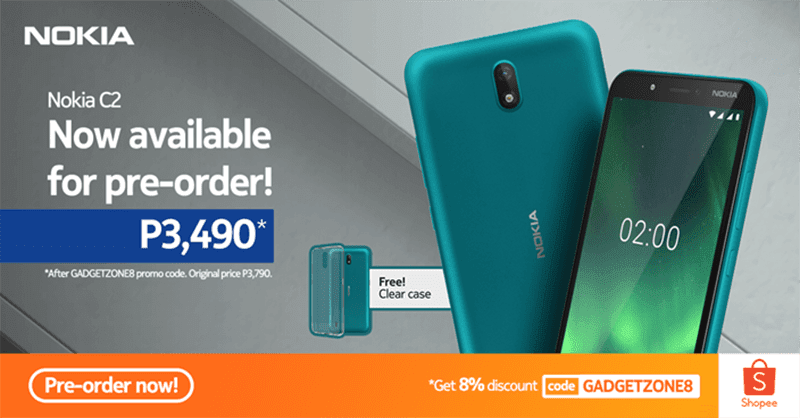 Nokia C2 goes official in PH, receives discounted price at Shopee