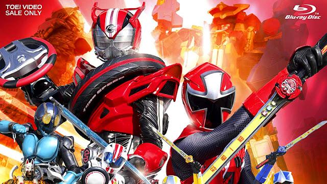 Shuriken Sentai Ninninger vs Kamen Rider Drive Spring ...