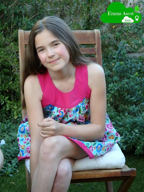 Vestido niña teen