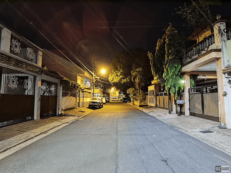 Low light ultra-wide w/ Night mode