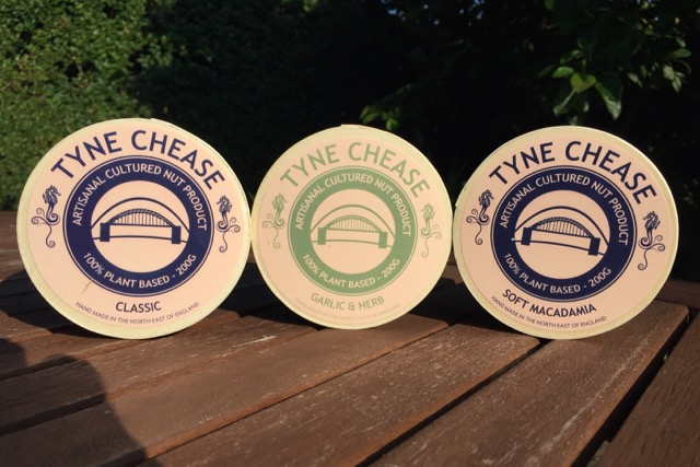 Tyne Chease vegan cheese