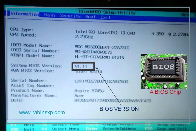 How to update your BIOS? – RabinsXP Blog