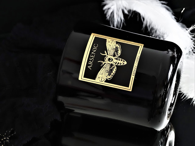 Kringle Candle Arsenic avis, bougie parfumée kringle, bougie parfumée 2 mèches, parfum d'ambiance, kringle candle, kringle candle black line