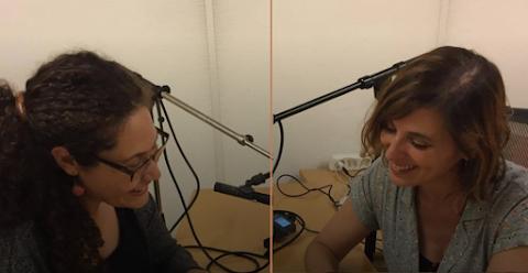 ENTREVISTA Poesía al paso – podcast, un proyecto de Andrea y Azucena Castro | Nadia Contreras