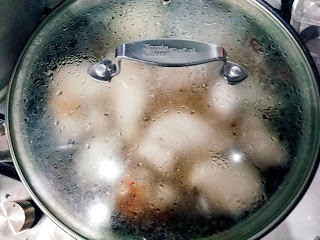 Курица в томатно-соевой подливке