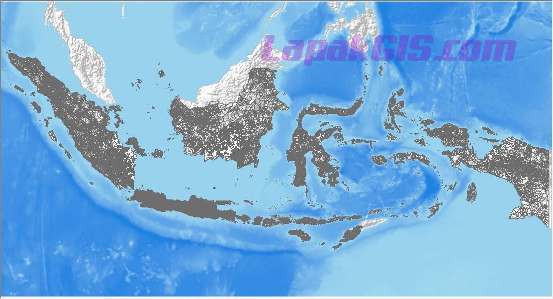 Shapefile Desa Indonesia
