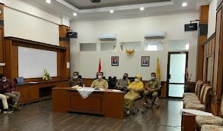 Kapolres Pangkep mengikuti Rakor Kepala Daerah Seluruh Indonesia