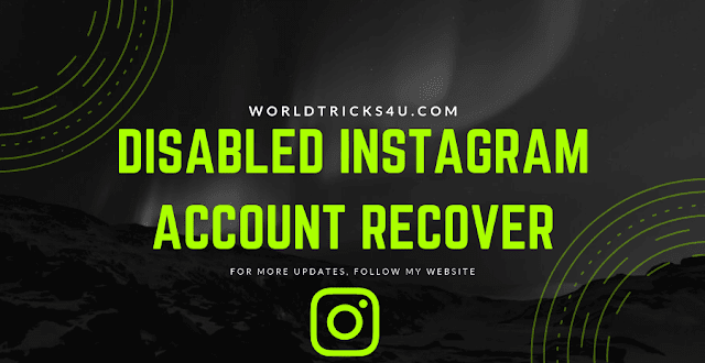 Disabled Instagram Account Recover Or Reactivate Ways Tricks ,instagram disabled my account for no reason ,instagram account disabled for violating terms ,instagram disabled my account 2018 ,instagram disabled my account 2019 ,instagram account disabled for violating terms 2018 ,instagram disabled for violating terms ,instagram account disabled appeal ,instagram disabled on my phone