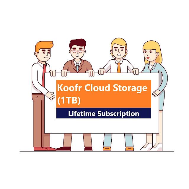 Koofr Cloud Storage: Lifetime Subscription (1TB)