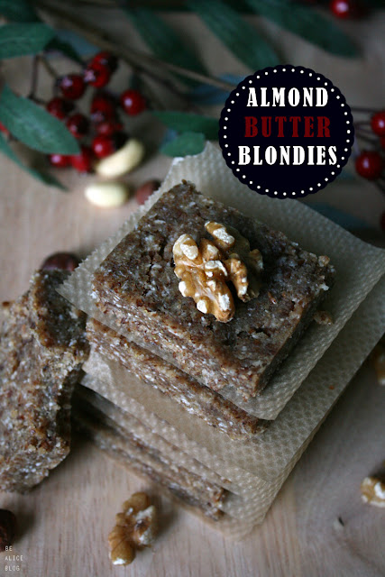 gluten-free raw vegan brownies blondies