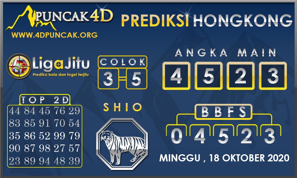 PREDIKSI TOGEL HONGKONG PUNCAK4D 18 OKTOBER 2020