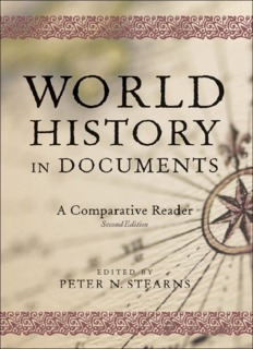 World History in Documents By Peter N. Stearns PDF Books