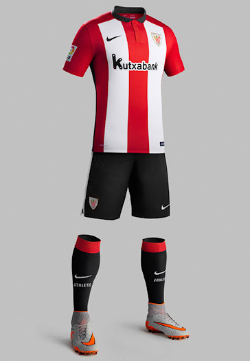 Usando una computadora Posada Salón  Athletic Bilbao 15-16 Kits Released - Footy Headlines
