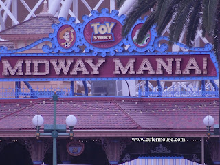 Toy Story Midway Mania Attraction Ride