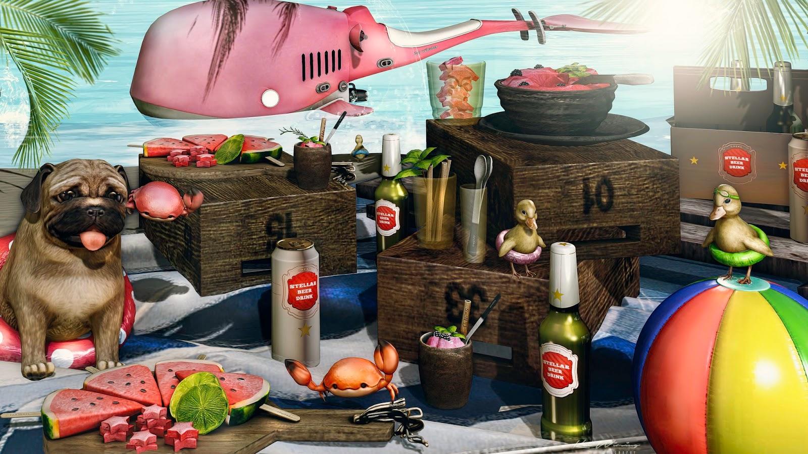 andika[loisir Dispenser set] @Summerfest '20 / D-LAB Jet whales @Summerfest '20