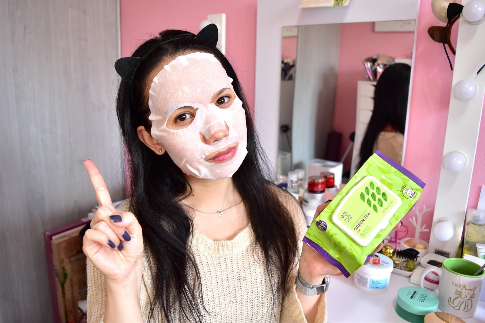Holika Holika ranná plátená maska