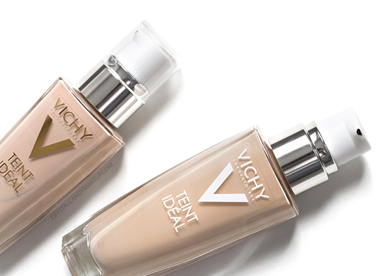 Vichy Teint Ideal Fluid Foundation Review Photos