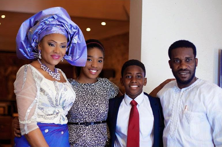 Austin Jay Jay Okocha Celebrates 21st Wedding Anniversary