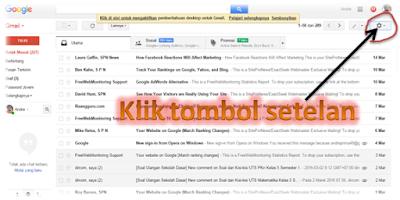 Cara Mengganti Tampilan atau Tema Gmail - Postingan Aku