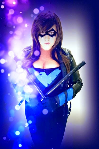 Jenn Marvel Cosplay Nightwing