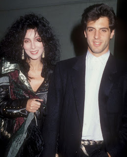 Rob Camilletti with his former girlfriend Cher