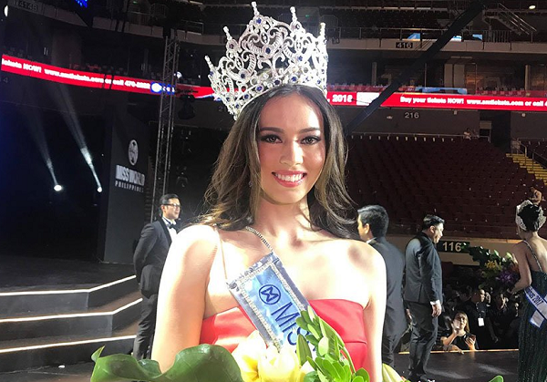 Laura Lehmann was crowned winner of Miss World Philippines 2017