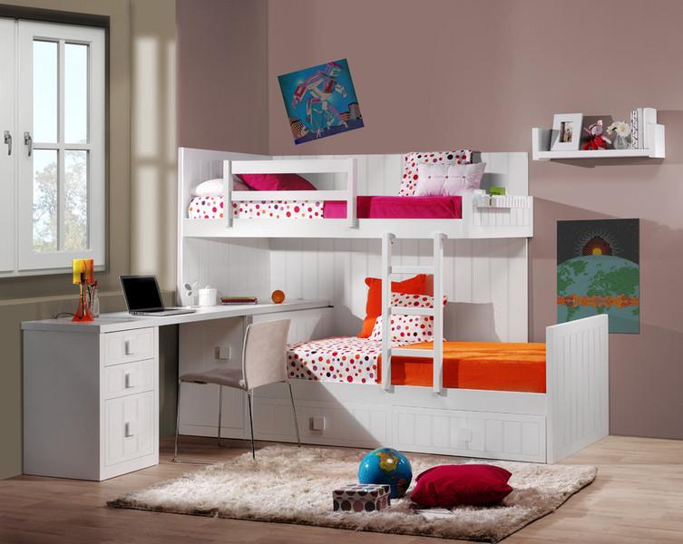 Recamaras Infantiles Para Espacios Pequeos Camas Dobles Infantiles - Camas-dobles-infantiles-para-espacios-reducidos