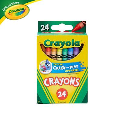 Crayola Crayons, 24 Colors
