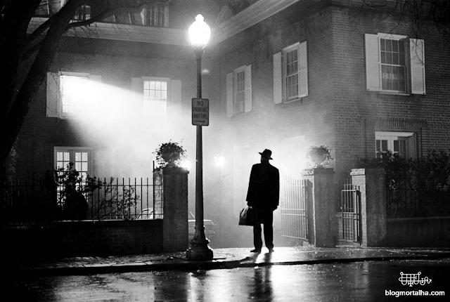 Imagem de divulgação do filme O Exorcista, de 1973.