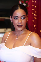 Mumaith Khan Spicy pics in Deep Neck White Gown at Zee Telugu Apsara Awards 2017 07.JPG
