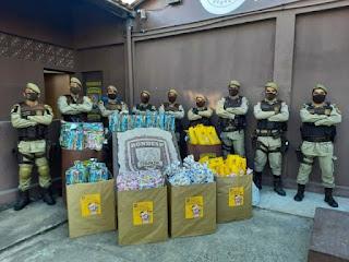 Rondesp distribui kits para celebrar o Dia das Crianças na Chapada Diamantina