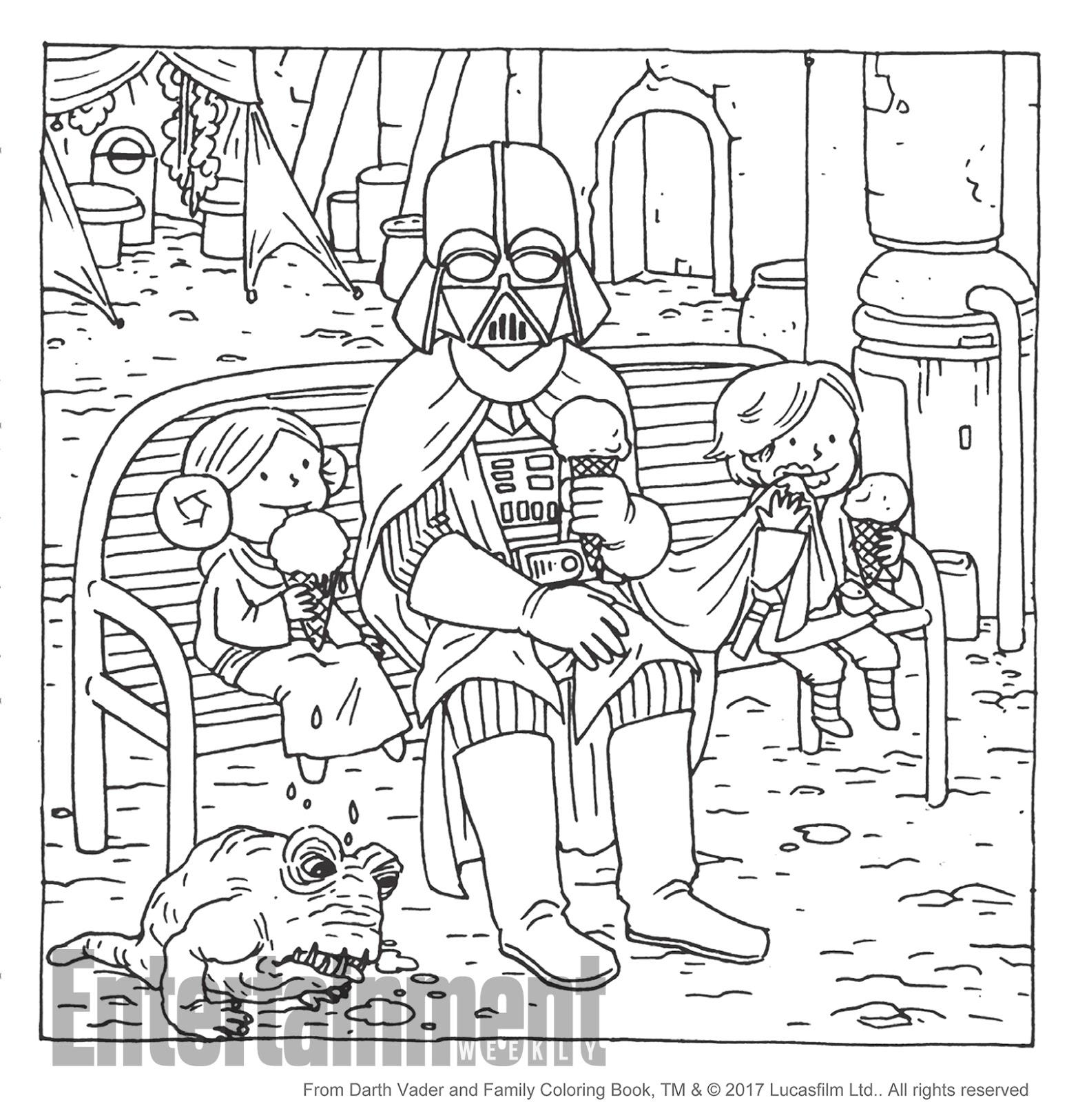 Increíble Darth Vader Para Colorear Página Meme Ideas - Dibujos Para ...