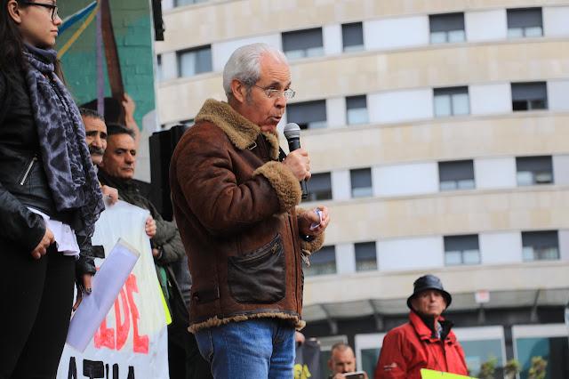 protesta por unas pensiones dignas
