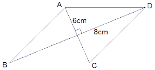 Example 1 Rhombus ABCD