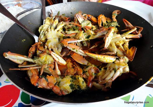 Moqueca de siri, culinária da Bahia