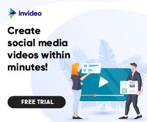 احصل على اشتراك InVideo للحصول علي فيديوهات احترافيه مجانا