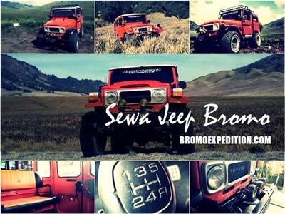 Sewa Jeep Bromo Murah