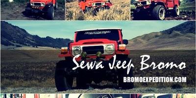 Sewa Jeep Bromo Murah Terbaru, lengkap dengan daftar harga